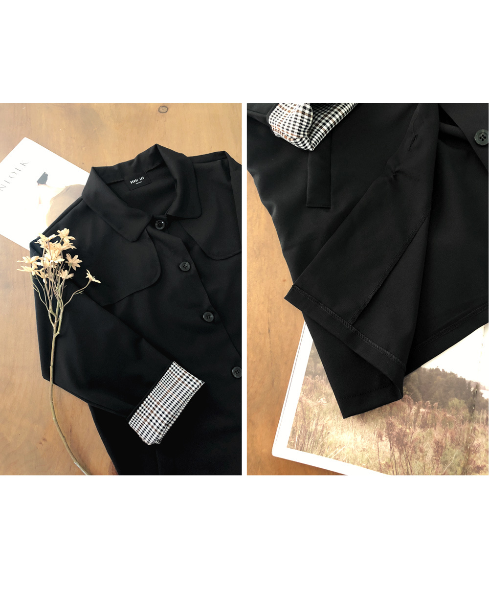 Jacket with an edge