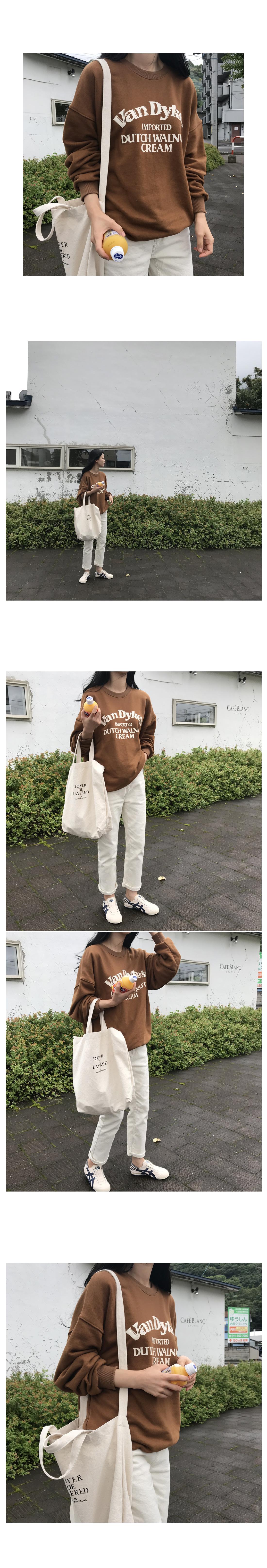 Bandai man-to-man T-shirt