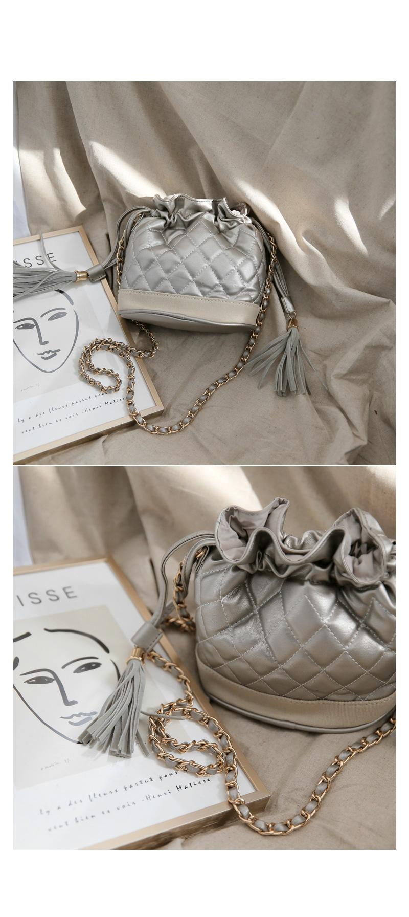 Shark embroidered bag