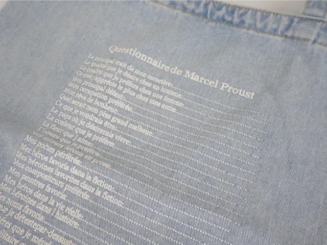 Denim Lettering Eco Bag