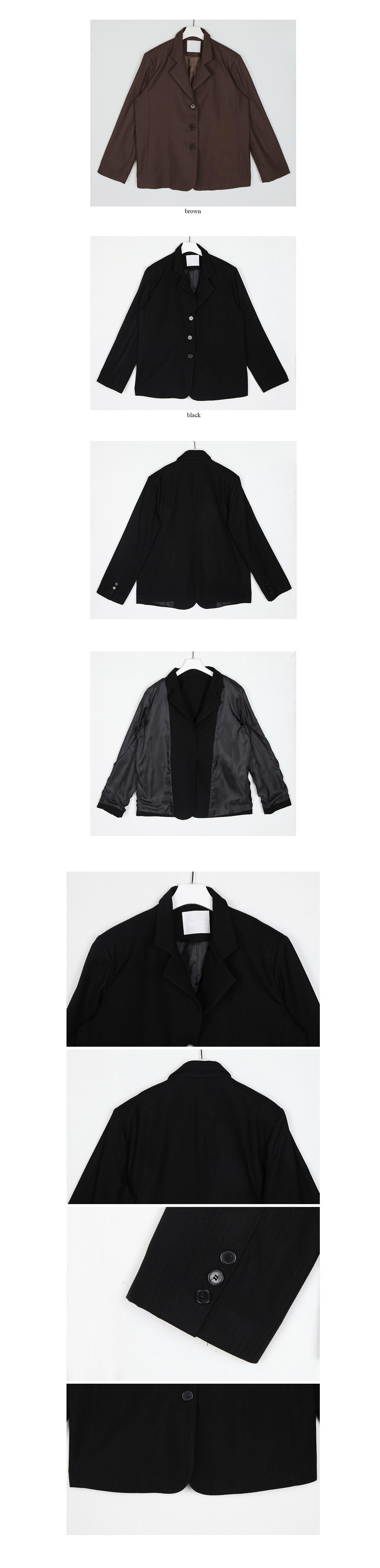 half stripe jacket(2colors)