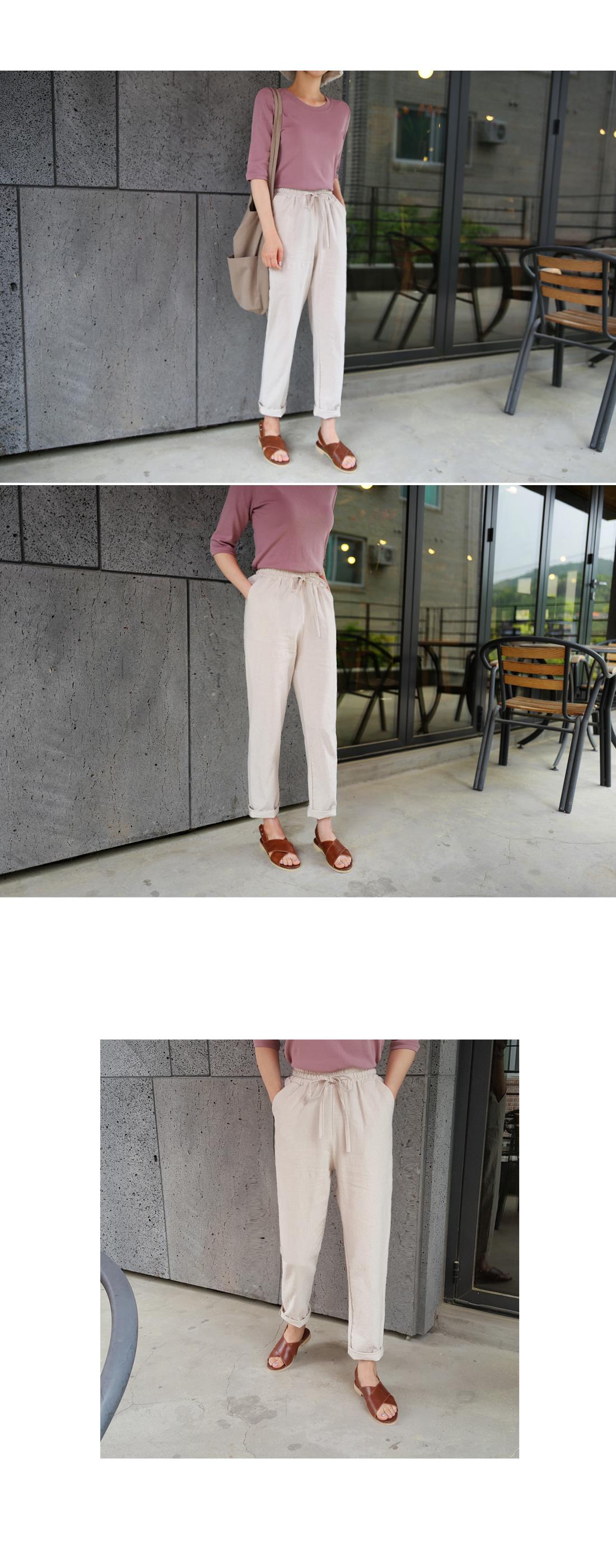 Soda Linen Bending Pants