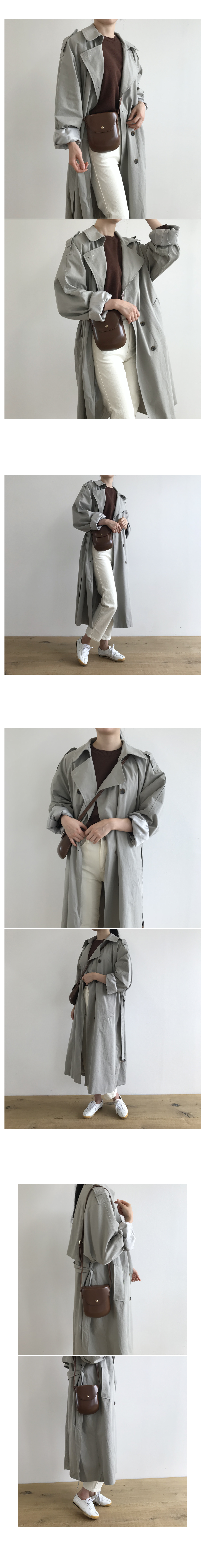 Notre Dame Rouge Pit Trench Coat
