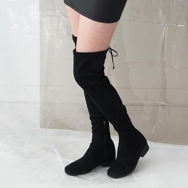 trendy knee high boots
