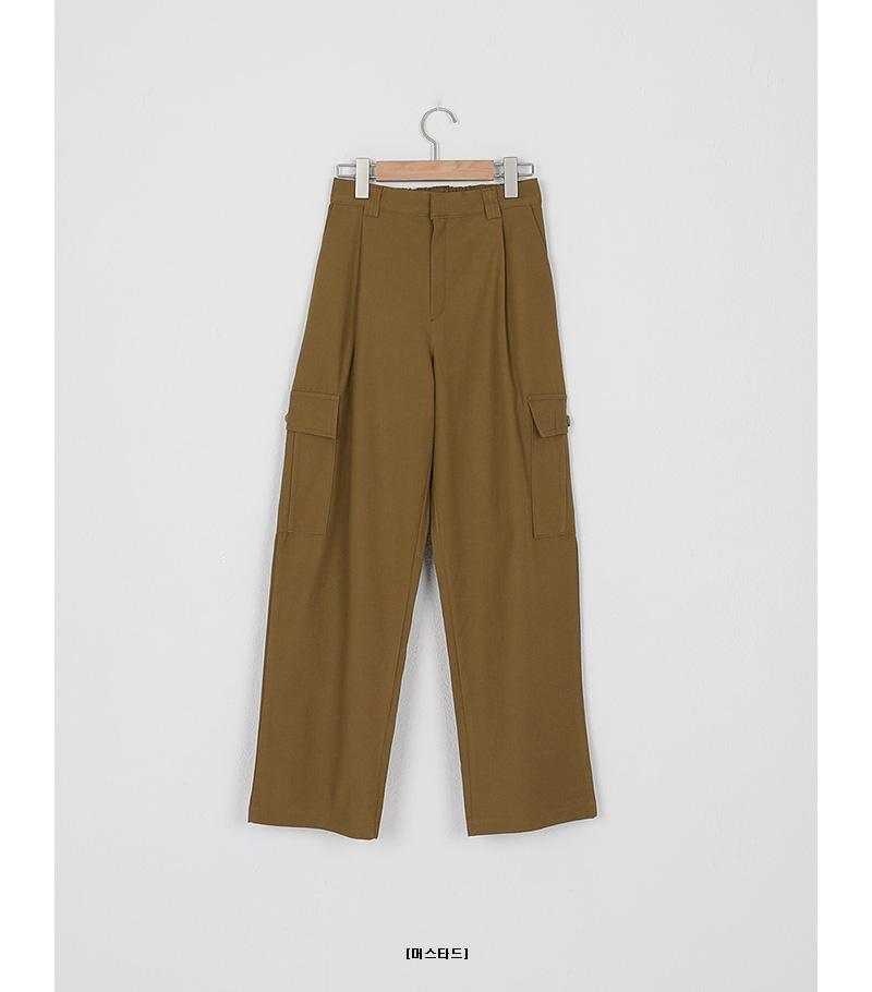 cargo pocket loose pants (3colors)