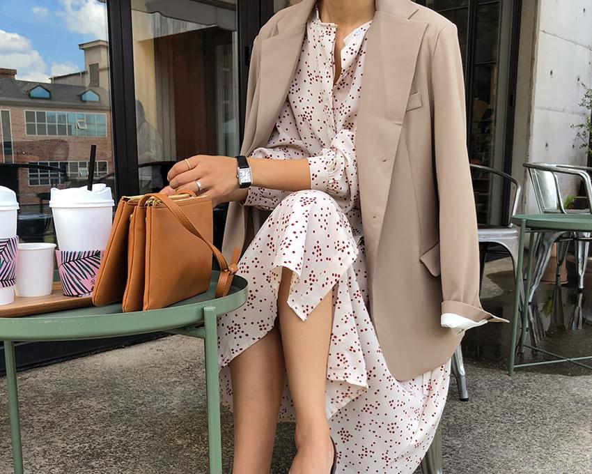 Planning special price / Fleur-dot long dress