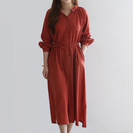 Long Shirt Red Dress