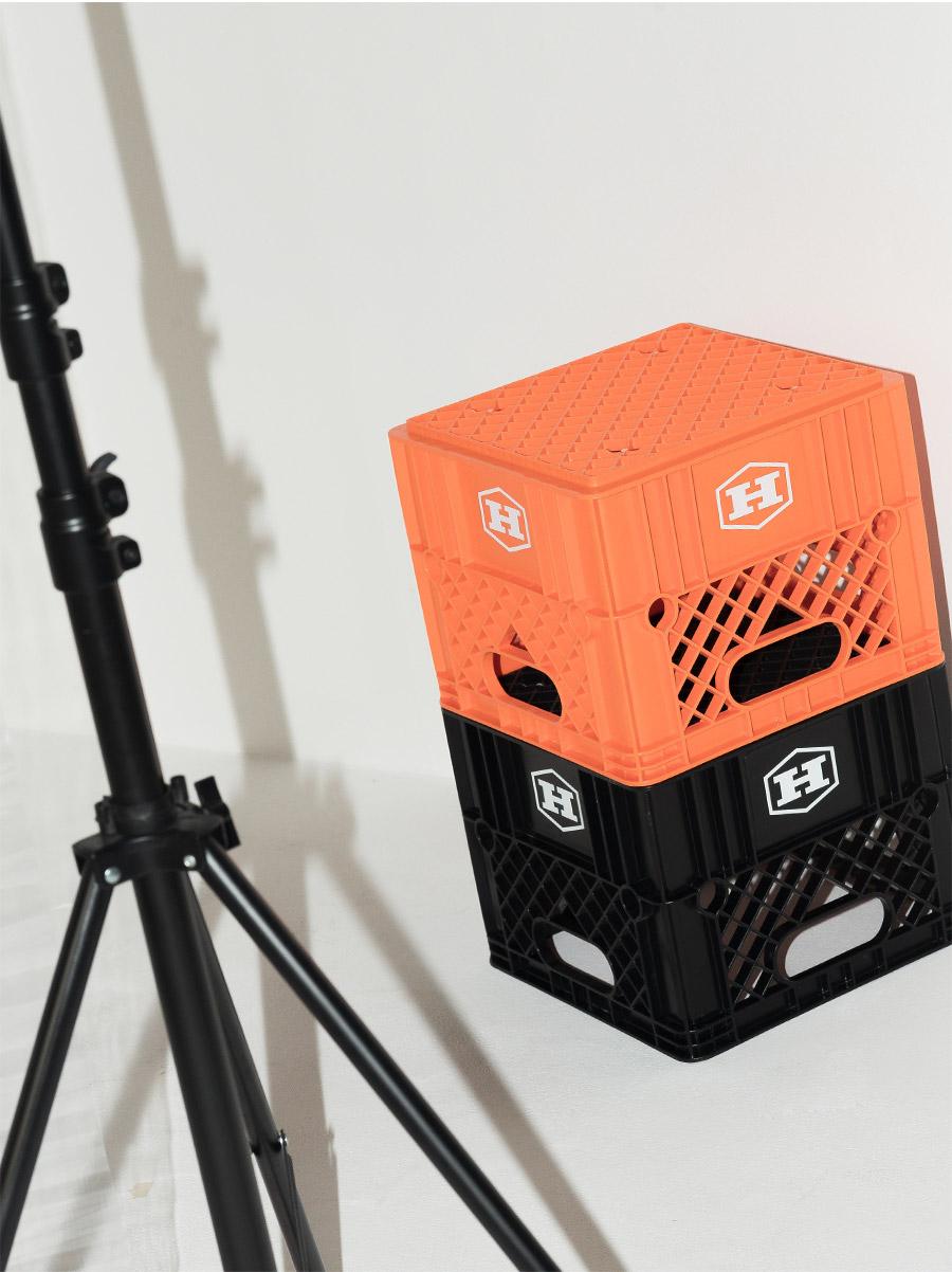 boxy fit slit detail printing tee