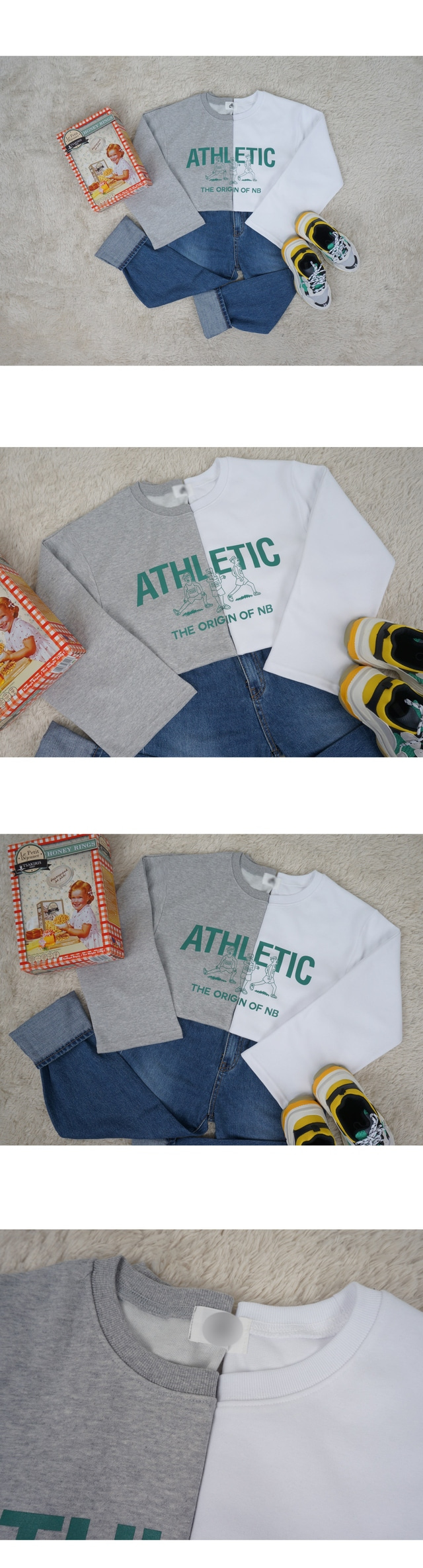 Athletics preparation long-sleeved T