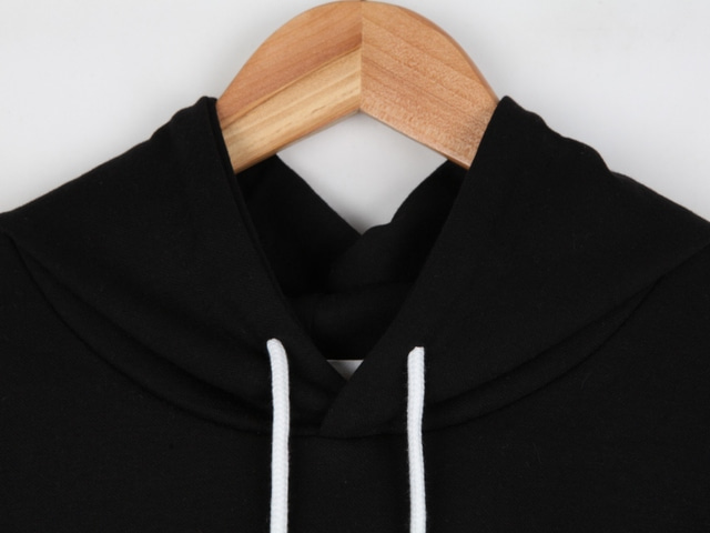 Meringue cookie crop hood tee
