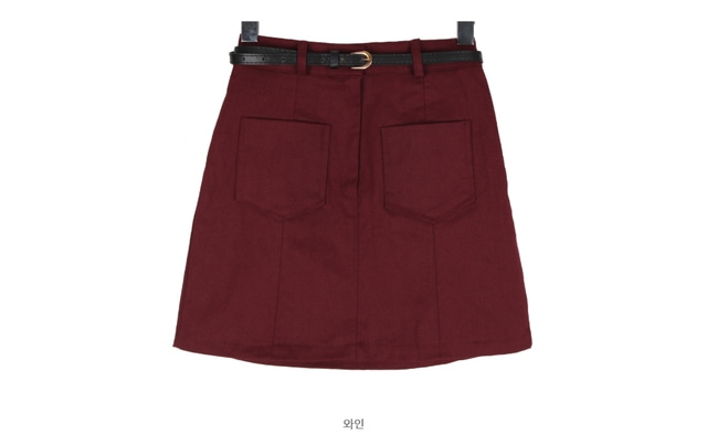 Two-pocket belt set SK