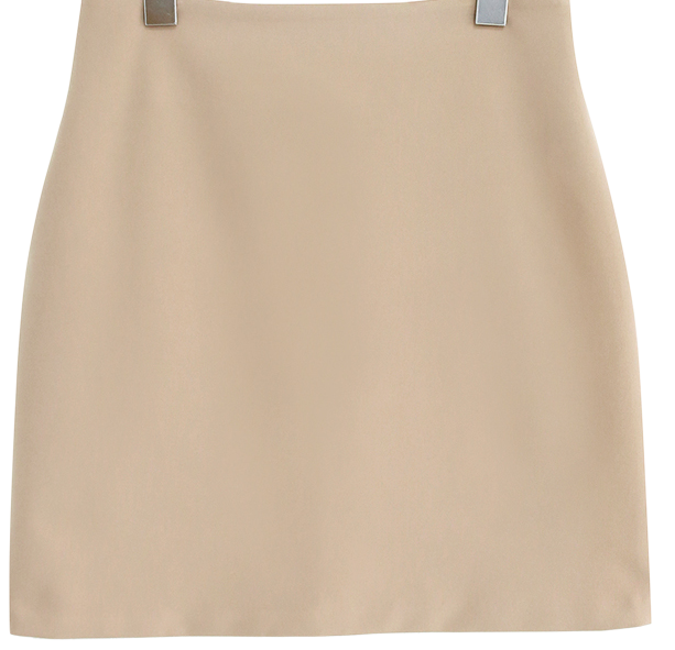 PONY SIMPLE H LINE SKIRT