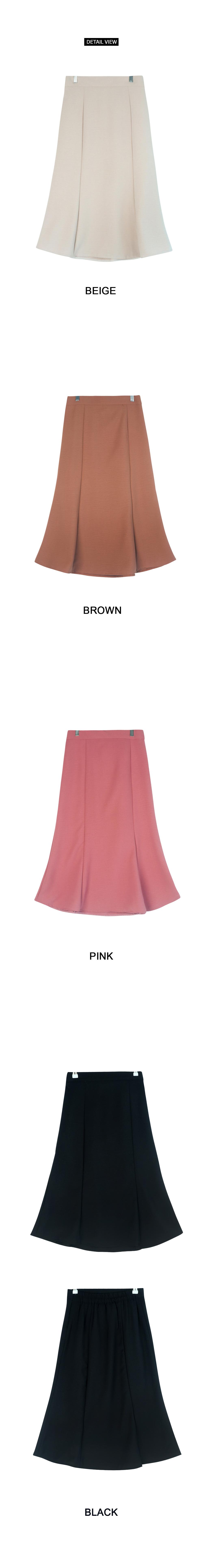 Rose Windy Midi Skirt