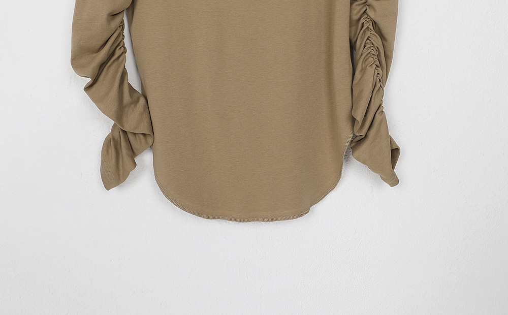 all shirring blouse (2colors)