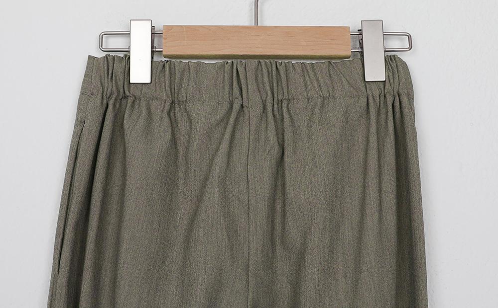 strap choice banding pants (2colors)