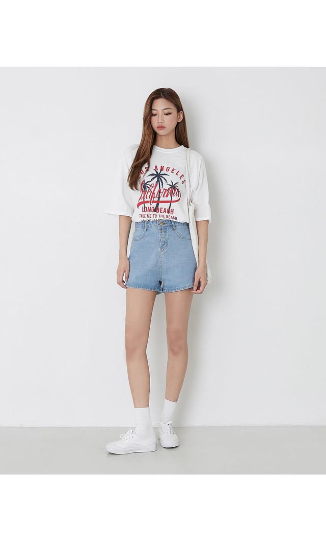 Summer palm t-shirt