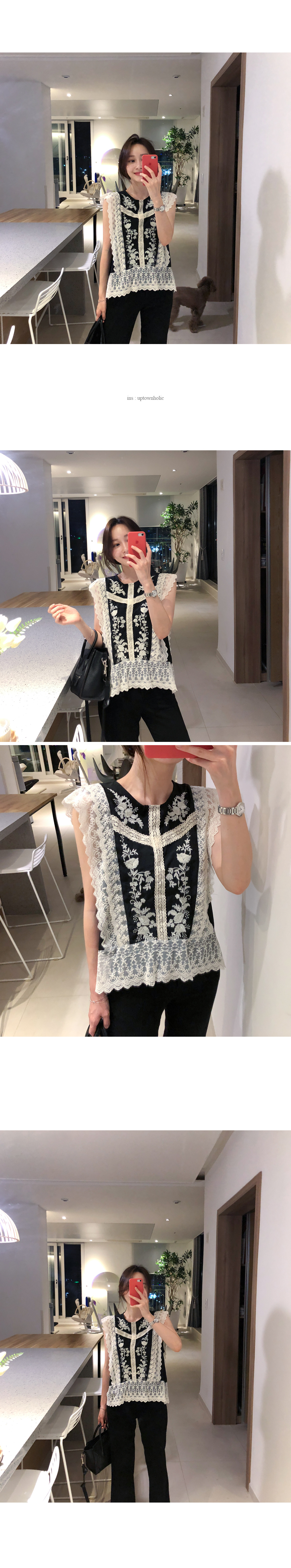 Lace embroidery bl