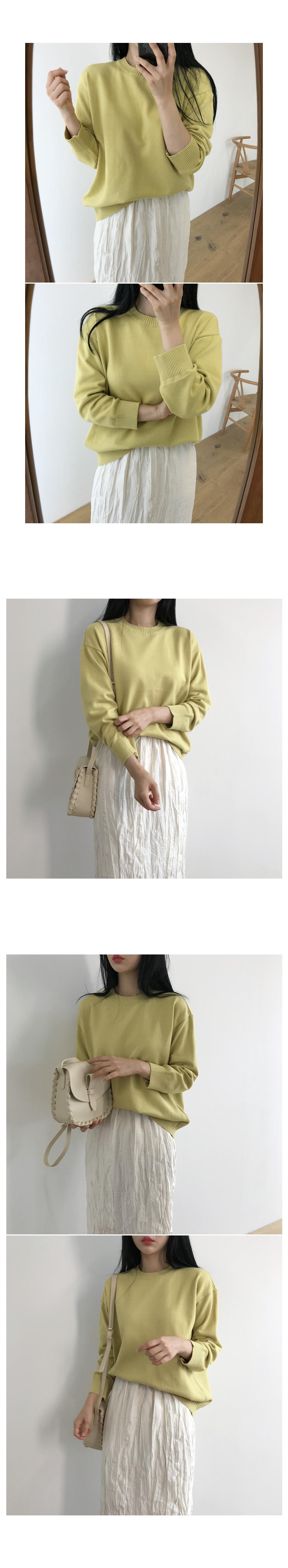 Knit round knit