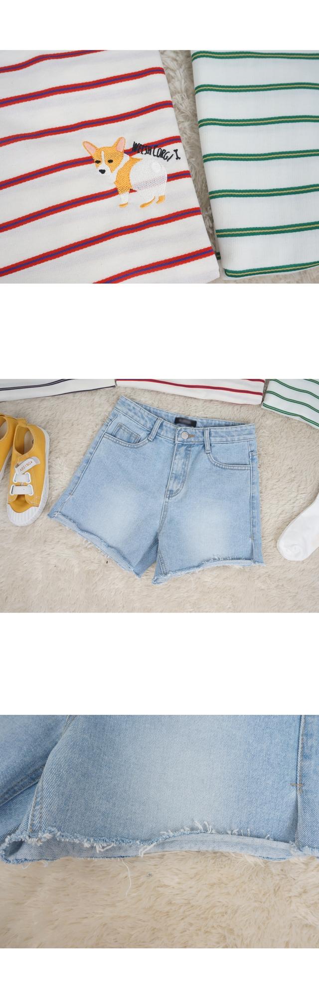 Sneakers denim shorts P