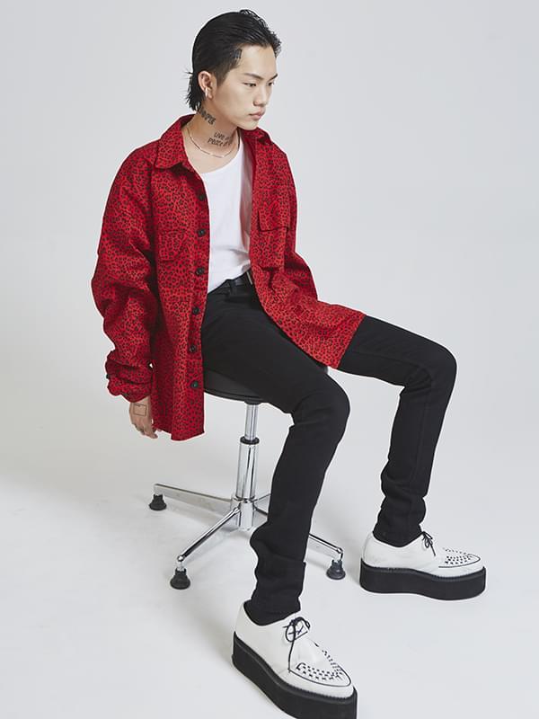 SALE animal pattern cotton jacket - UNISEX