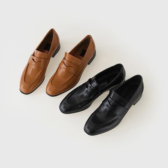 gentle penny loafer