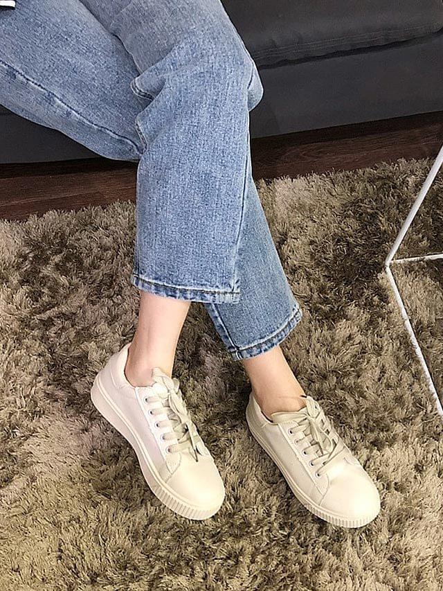 White Hartie Cutie White Sneakers