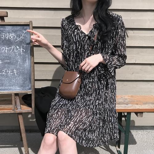 Momo Flower Mini Dress