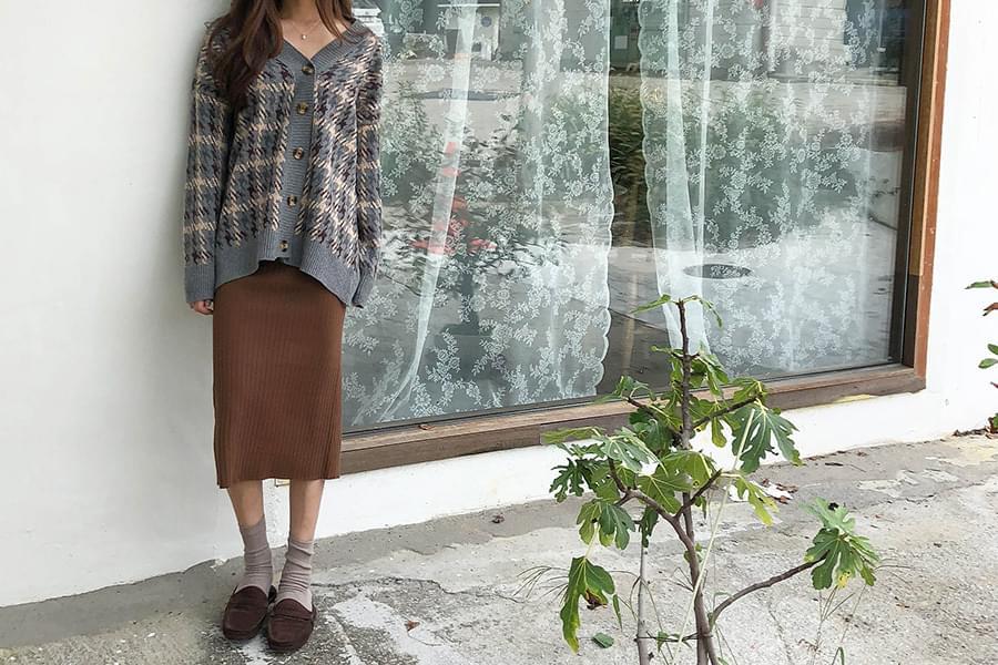 Trimmed Skirt
