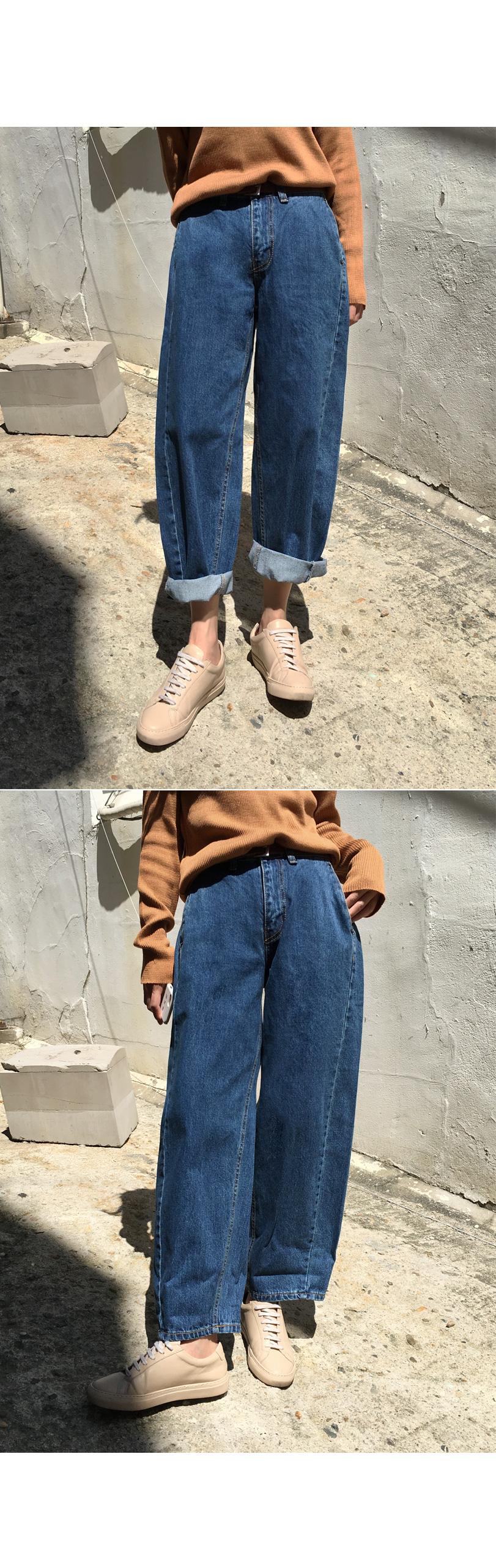Pumpkin Boyfit Denim Pants