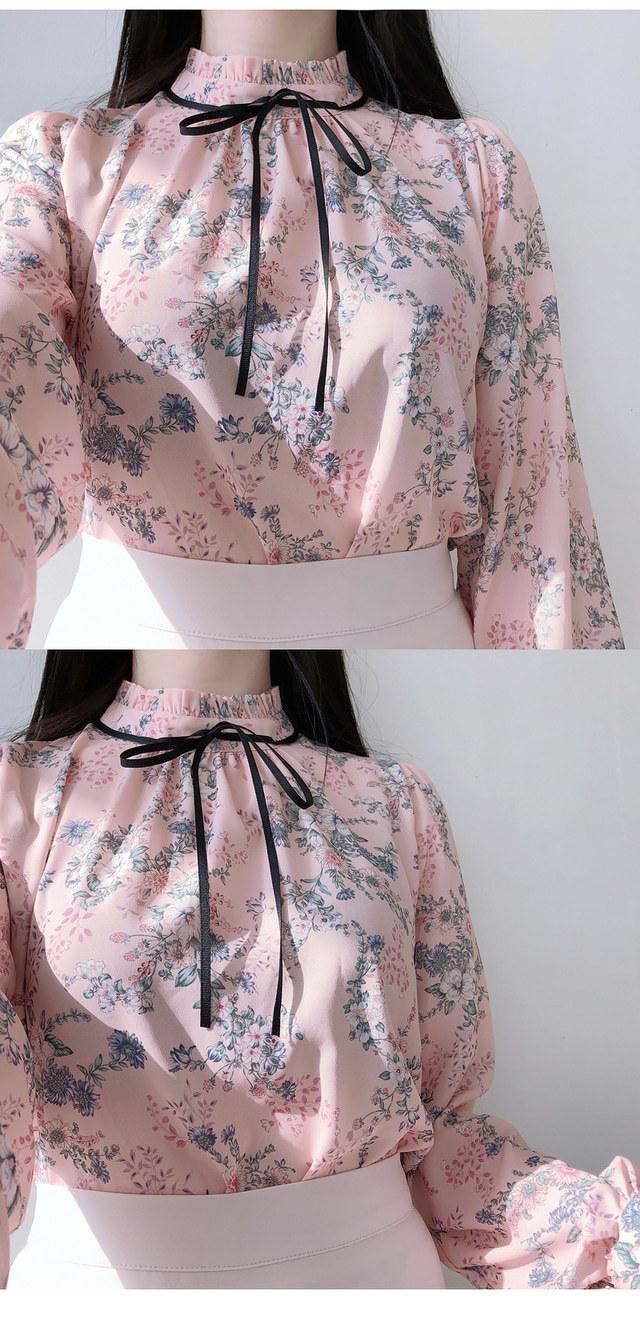 Rudy ribbon thong blouse