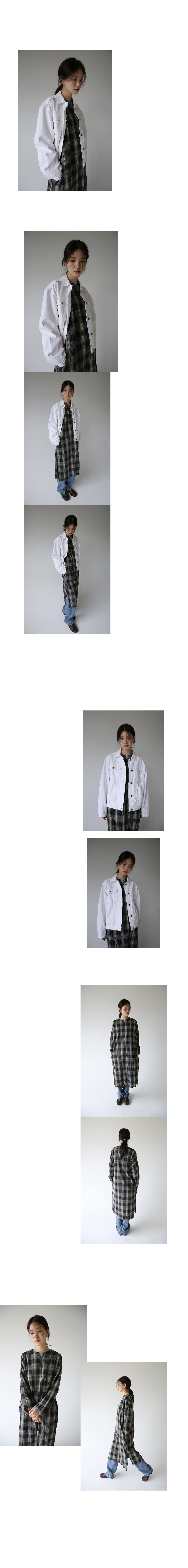 cotton middle jacket (4colors)
