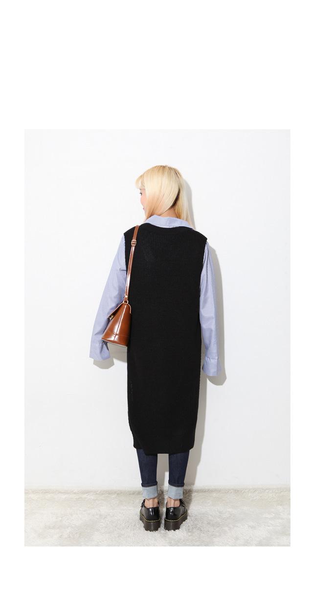 Uniform Knit Vest Dress