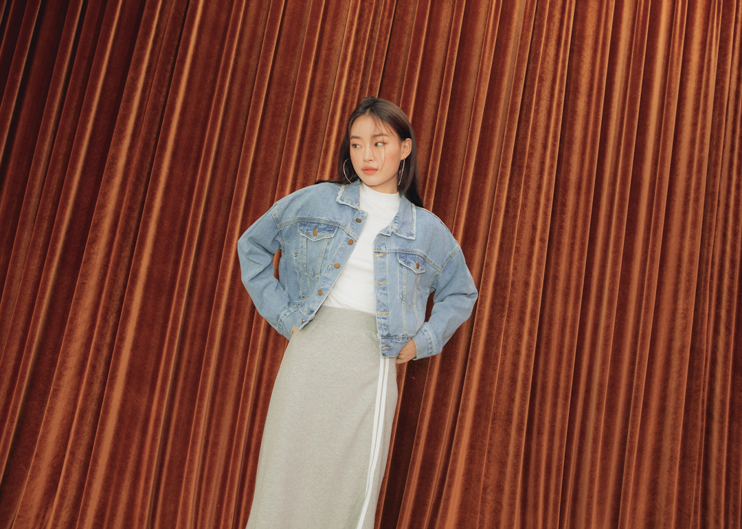 Angelina top long skirt