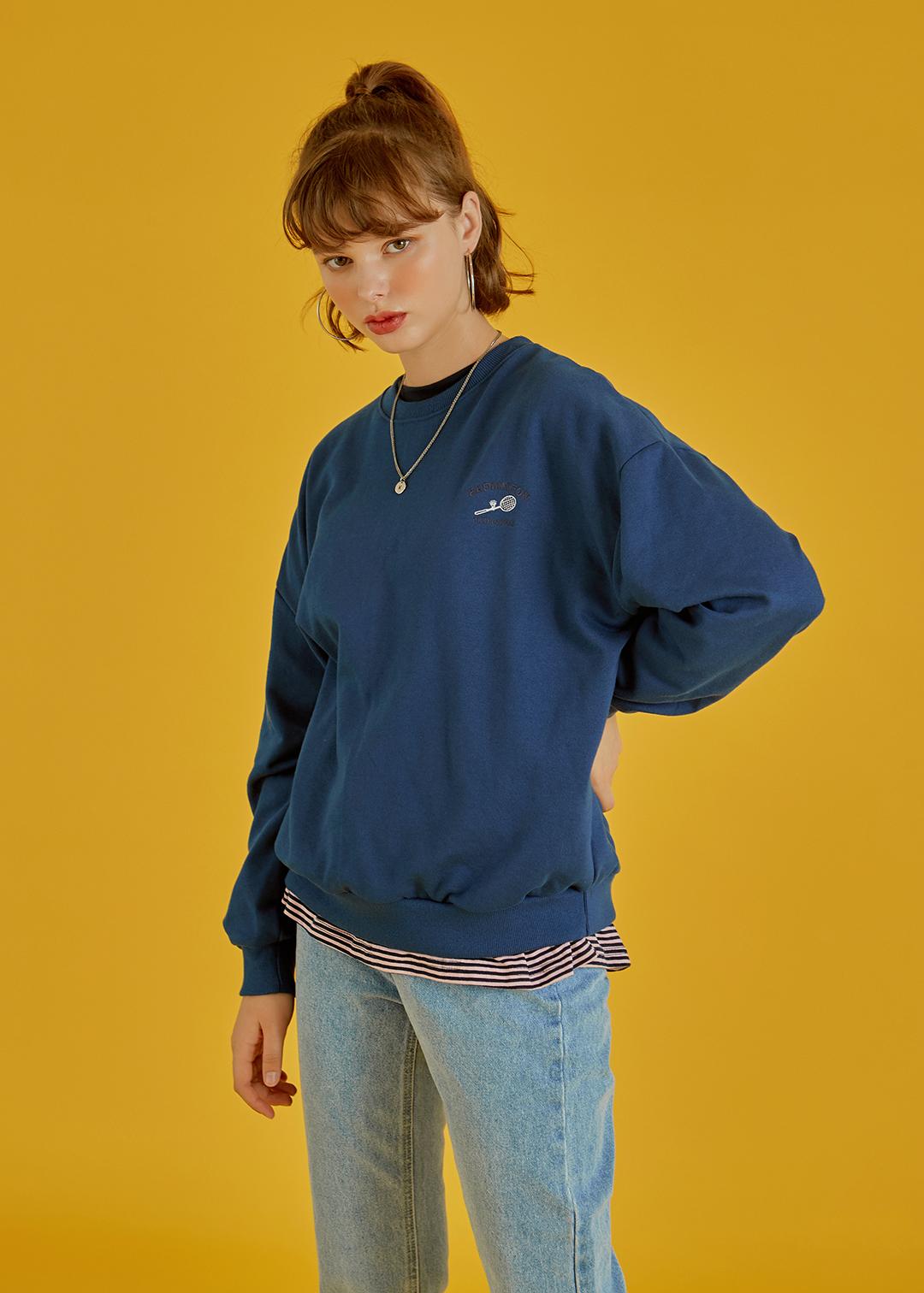 Badminton Lettering Sweatshirt