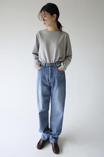 four button denim jeans (2colors)