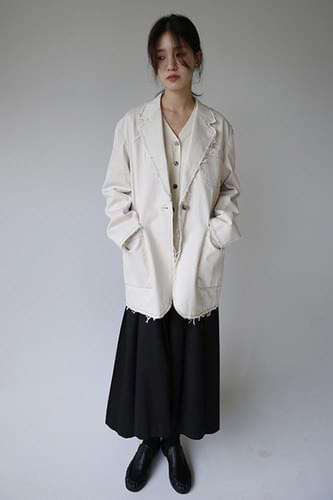 overfit cutting jacket (3colors)
