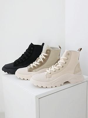 Simmons High Top Knee Sneakers 5cm