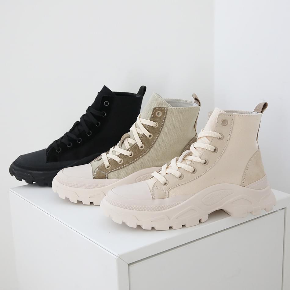 Simmons High Top Sneaker 5cm 球鞋/布鞋