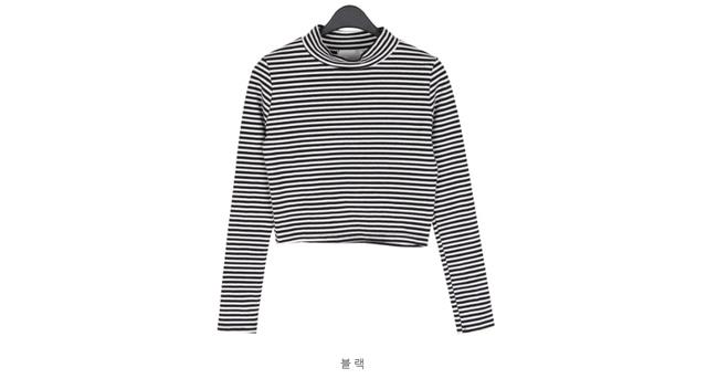 Magic Stripes Crop T