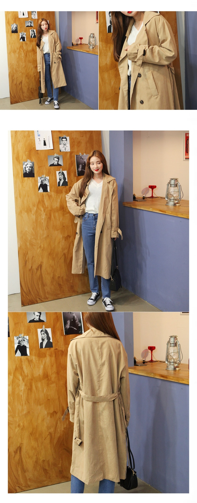 Real Soft Trench Coat