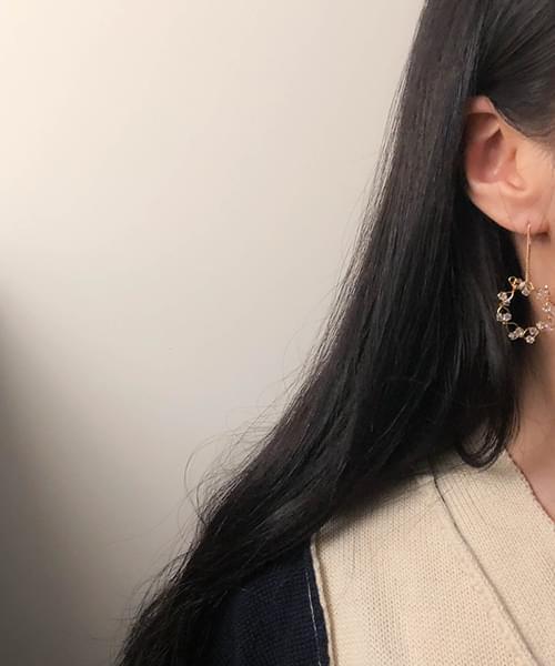 knit earring