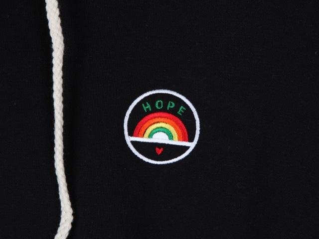 Rainbow Hope Hood Tee