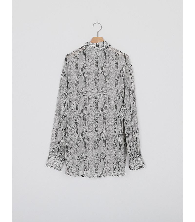 python see-through blouse (2colors)