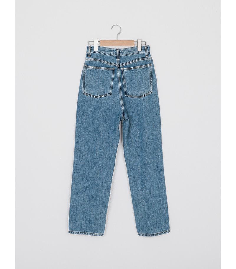 classic vintage long denim pants