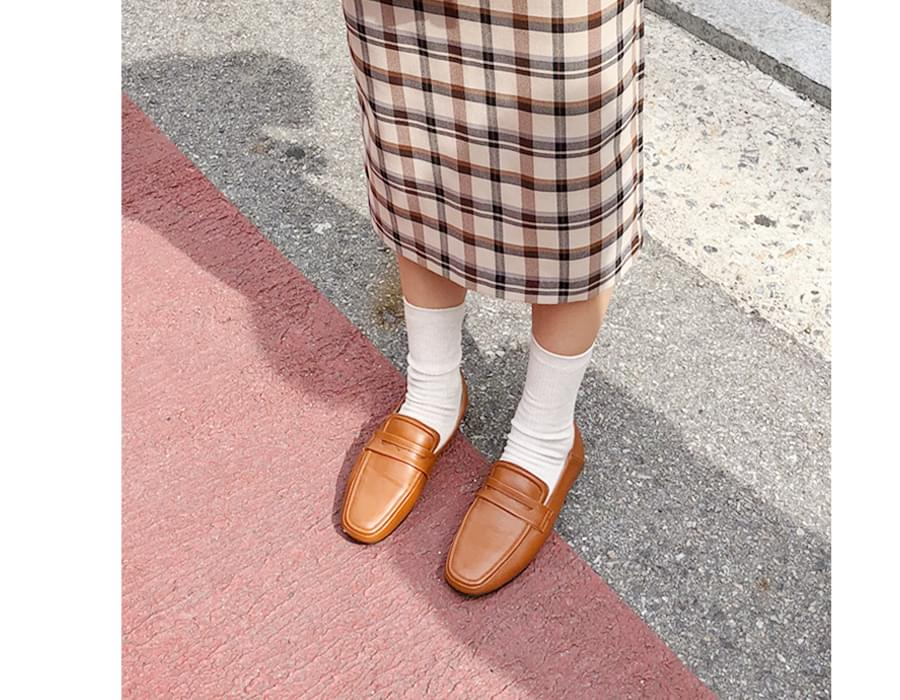Skin two-way loafer_H (size : 230,235,240,245,250)