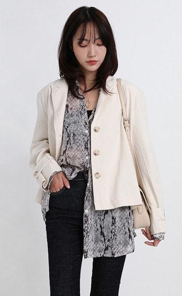 kane short jacket (2colors)
