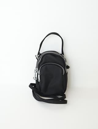 3 zipper mini bag