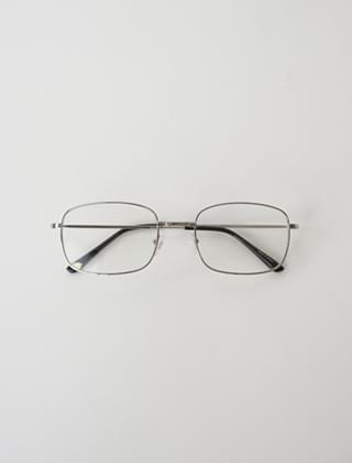 square frame glasses (2colors)