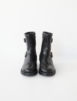 rough mood boots (2colors)
