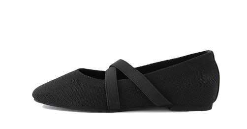 Refined Flat Shoes 1cm